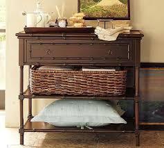 faux bamboo nightstand garnet hill