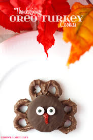 thanksgiving oreo turkey cookies embellishmints