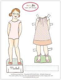 printable paper dolls lily thistle meet mabel free printable paper doll