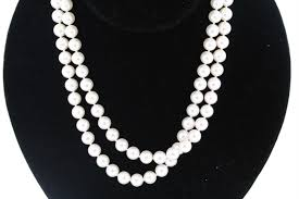 diamond pearl necklace images Mikimoto blue lagoon 32 inch long 7 5 8 0mm pearl necklace 14k jpg