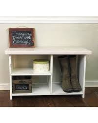 Wooden Entryway Bench Deal Alert Wood Entryway Bench With Shelves Shoe Bench Shoe