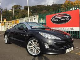 peugeot coupe rcz 2011 11 peugeot rcz 1 6 thp gt 2 door coupe petrol 6 speed manual