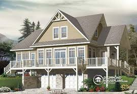 house plans with garage underneath house plan w3914 v1 detail from drummondhouseplans com