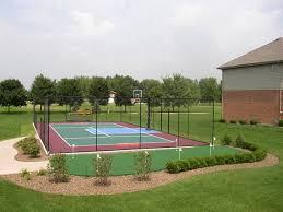 Backyard Sport Games Missouri Backyard Basketball U0026 Multi Sport Game Courts Sport