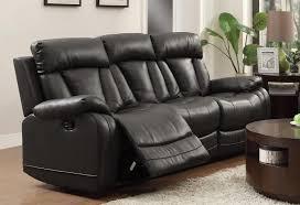 homelegance ackerman reclining sofa set grey bonded leather