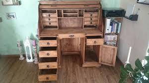 Schreibtisch Vollholz Gebraucht Sekretär Schreibtisch Massivholz In 31840 Hessisch