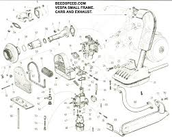 vespa part diagrams