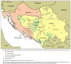 Bosnia Map Learn About The Bosnian Language Free Language