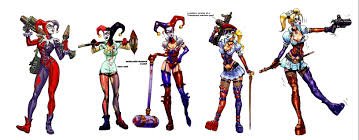 the r evolution of harley quinn from jester to symbol