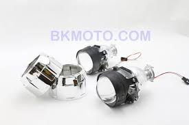 2007 zx10r h1 dual halo hid bixenon projector headlights kit with