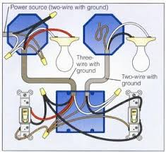 2 way switch with lights wiring diagram electrical pinterest