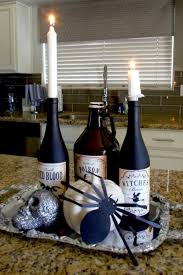 Easy Make Halloween Decorations Diy Halloween Decorations Using Empty Wine Bottles