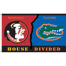 Floridas State Flag Florida Vs Florida State 3ftx5ft House Divided Flag