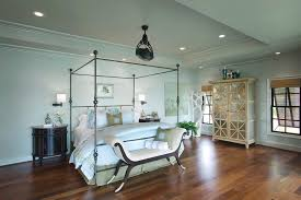 Bedroom Upholstered Benches Small Bedroom Ceiling Designs Bedroom Tropical With Four Post Bed