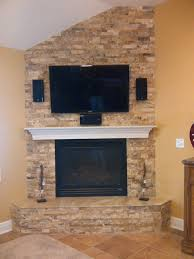 picasso stacked stone fireplace installed by dugan u0027s fireplaces