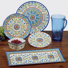 tuscany melamine dinnerware collection