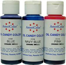 candy colors for chocolate oil based candyland crafts