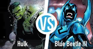 hulk blue beetle iii battle superhero database