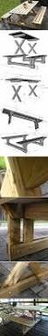 Build A Picnic Table by How To Build A Farmhouse Picnic Table Picnic Tables Picnics And