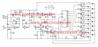 led flasher circuit controlled by audio