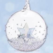 Swarovski Christmas Star Ornaments by 2014 Swarovski Annual Ball With Star Crystal Ornament Sterling