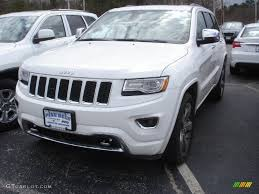 jeep 2014 white 2014 bright white jeep grand overland 4x4 79058310