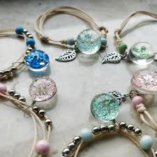 lucky leaf bracelet images Online shop crystal glass ball charm bracelet women fashion weave jpg