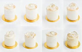 mini wedding cakes sugar realm gold and white mini wedding cakes in a sugar