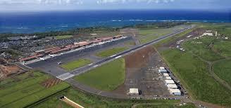 Kahului Airport Map Kahului Airport On Maui Maui Hawaii