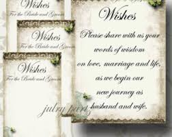 wedding wish tags set of 8 anniversary wishing tree tags bookmarks