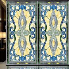 stained glass door patterns compare prices on church stained glass window film online