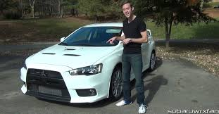 2014 Mitsubishi Lancer Evolution X Review 2013 Mitsubishi Lancer Evolution X Gsr Youtube