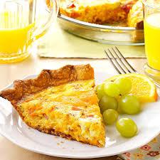 How To Set A Table Taste Of Home by Ham U0027n U0027 Cheese Quiche Recipe Taste Of Home