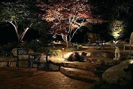 outdoor electric landscape lighting night lights landscape lighting outdoor lighting landscape timber