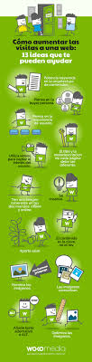 online seo class 13 ideas para aumentar las visitas a tu web infografías