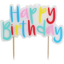 birthday candle birthday cake candles hobbycraft