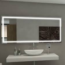 mirrors with lights you u0027ll love wayfair