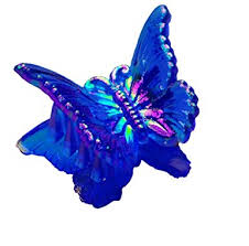 butterfly hair clip assorted colors 1 pack clothing