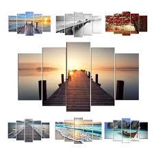 wandbilder 3 teilig 5 teiliges wandbild natur by lesara homify
