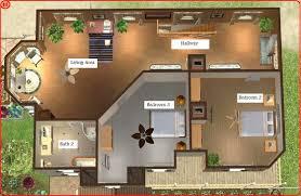 mod sims luxurious beach house home building plans 34950