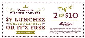 holiday coupon romano u0027s macaroni grill restaurant romano u0027s kitchen counter
