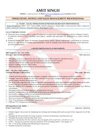 Sample Management Resumes by People Management Sample Resumes Download Resume Format Templates