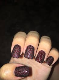 no spoilers some dragon scale nail art in anticipation of the