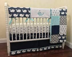 Canadian Crib Bedding Nautical Crib Bedding Etsy