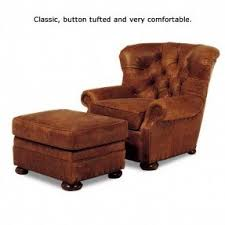 Chair W Ottoman Leather Recliner Chair With Ottoman Foter