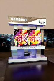 samsung uhd tv retail display holman exhibits