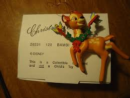 amazon com disney christmas magic bambi collectible ornament