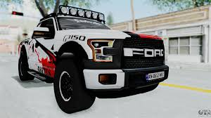 Ford Raptor 2005 Ford F 150 Raptor 2015 For Gta San Andreas