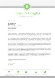 Market Research Analyst Cover Letter The Brianna Cover Letter For Professional Careers
