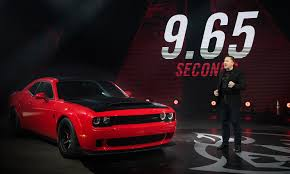 is dodge a car brand dodge puts a price tag on 2018 challenger srt